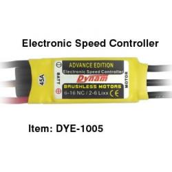 ESCD45  Dynam Brushless ESC-45A (Não inclui BEC)