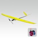 PLANEADOR E-HAWK 1500  SC 2.4GHZ M2 (COMPLETO.  AMARELO)