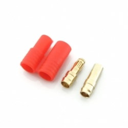 Gold Coated Banana Connector Set 3.5mm with housing ( Uni: 1)