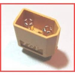 Male XT60 connectors  (1 pc ) GENUIN