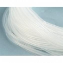 Tubo de Silicone transparente  2,4*5.,5mm (1metro)