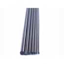 Vara de fibra de carbono maciço diam. 4mm X1000mm