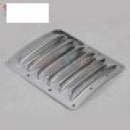 Cooling Fin for Airplane Cowl 75x60x0.5mm for RC Airplane (small size) Preto