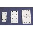 Nylon Pin Hinges 34 x 16 assembled ( uni: 10)