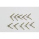Pin hinge 2x33mm 10pcs