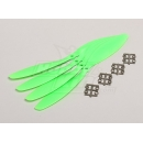 Slow Fly Electric Prop 11x4.7SF (4 pc - Green)