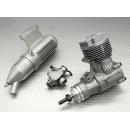 ASP S46AII TWO STROKE GLOW ENGINE W/REMOTE NEEDLE