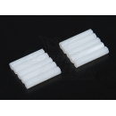 5.6mm x 30mm M3 Nylon Tapped Spacer (10pc)