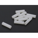 5.6mm x 20mm M3 Nylon Tapped Spacer (10pc)