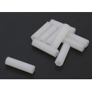 5.6mm x 22mm M3 Nylon Tapped Spacer (10pc)