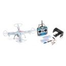 LRP Quadricóptero Gravit Vision FPV 2,4GHz RTF c/Cámara WLAN Modo 2