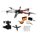 NAZA-M V2 + H3-3D + F550 ARF + Skid + Adapter