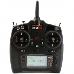 SPEKTRUM DX6 G3 6 Canais 2.4 GHz DSMX