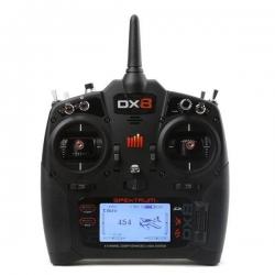SPEKTRUM DX8 G2 8 Canais 2.4 GHz DSMX