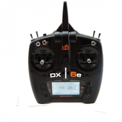 SPEKTRUM DX6e 6 Canais 2.4 GHz DSMX  Versão sem Receptor
