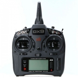 SPEKTRUM DX9 Black Edition 9 Canais 2.4 GHz DSMX (sem Receptor)