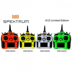 SPEKTRUM iX12 12 Canais 2.4 GHz DSMX (Branco)