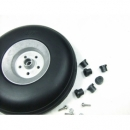 PU Wheel for RC Airplane H41mm with¢5mm CNC Aluminum Hub Uni:1
