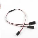 Servo Extension Y Cable 300mm Futaba 26#