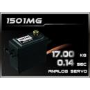 HD-Power Analog Servo 1501MG 40,7x20,5x39,5 mm -17,0kg-